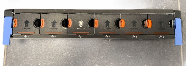 Carcasa rack fan Dell PowerEdge R720 Hot Swap Fan 3WNX5-A00