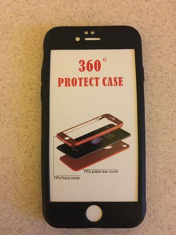 Силиконов калъф 360 градуса за iPhone 6/6s
