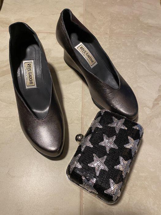 Pantofi dama piele naturala 38 rivehauche Made in italy Campina - imagine 1