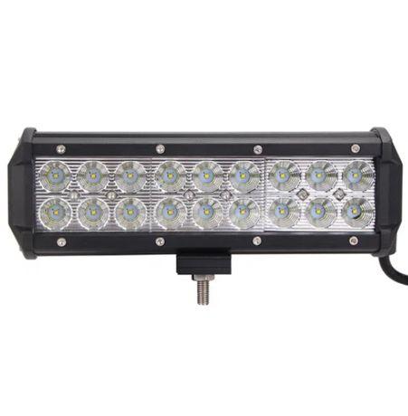 23СМ / Мощен Led Bar Лед Диоден Бар Фар Прожектор 12/24V 54W 18 диода