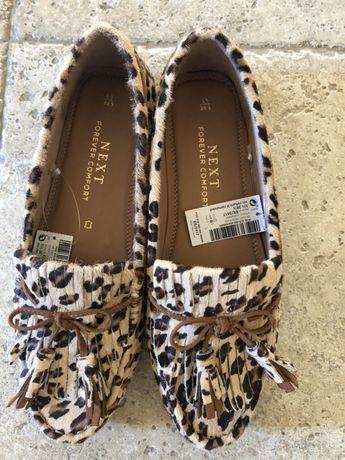 Pantofi/ balerini animal print next, 38,5