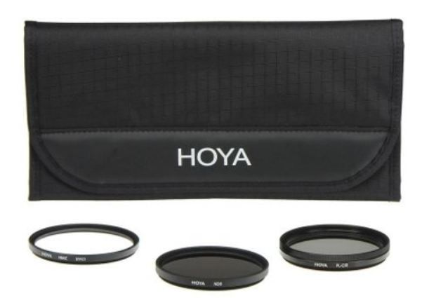 Set filtre foto Hoya 72 mm (3 filtre) (UV + PL CIR + Warm)