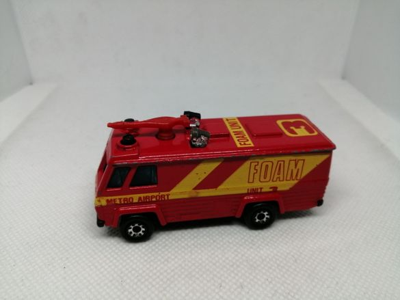 Стара метална количка Matchbox Command Vehicle 1980