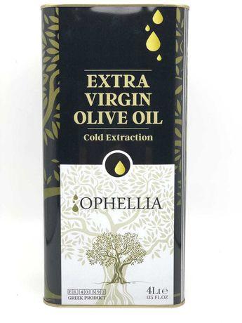Гръцки зехтин екстра върджин OPHELLIA 4л киселинност 0,25%