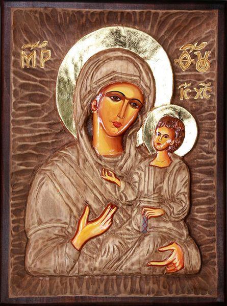 Продавам икона Богородица с Младенеца гр. Ловеч - image 1