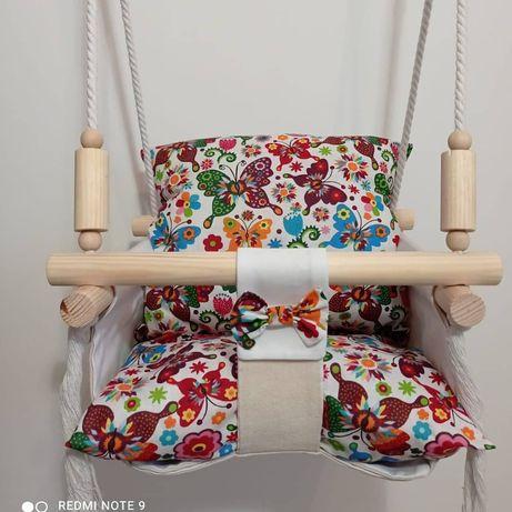 Leagăne textile copii