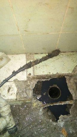 Прочистка канализации, прочистка труб, удаление засоров, недорого