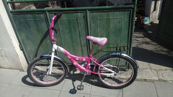 Детско колело за момиче.