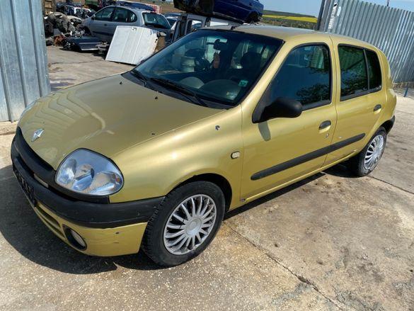Продавам Рено Клио, Renault Clio 1.9 D, 64 к.с., 02г. на части