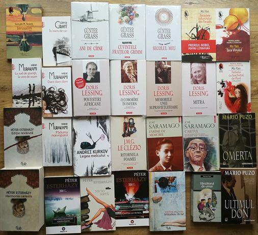 Murakami Doris Lessing Gunter Grass Mo Yan Jose Saramago Le Clezio