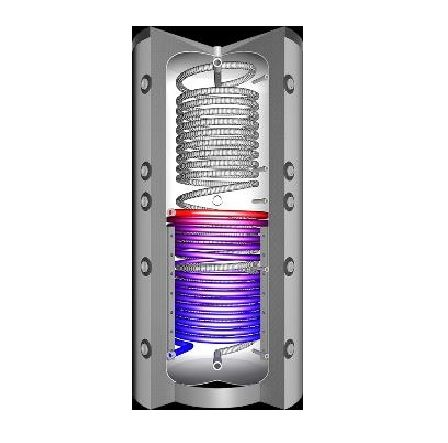 Pufer (puffer)special -serpentine inox, extractibile, tanc in tanc