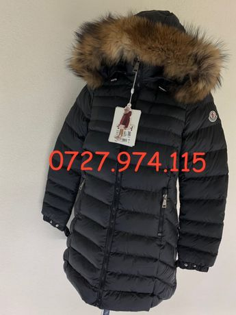 Geaca Moncler Original dama lunga made in Romania