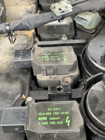 Bobina inductie mercedes benz c200 kompresor an 2003 163cp