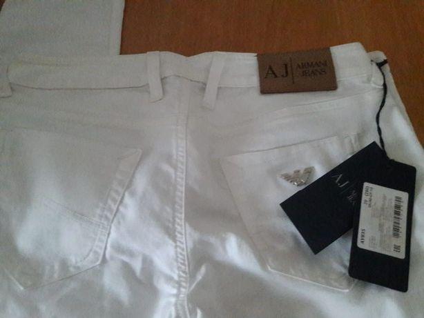Женские брюки белые хлопок