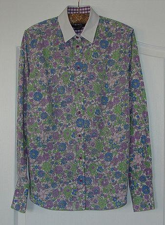 Camasa dama GANT, Marimea US 8 / UK 12, Imprimeu Floral, Autentica