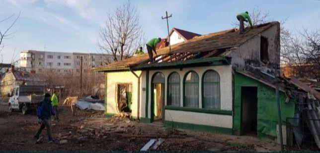 Serivicii demolării.case vechi.