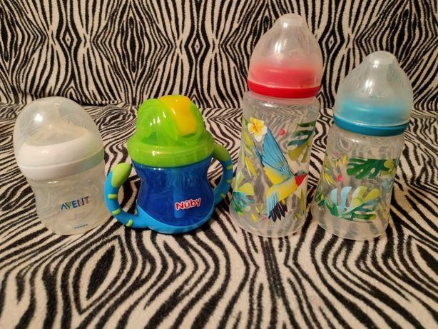 Новые фирменные бутылочки и поильники