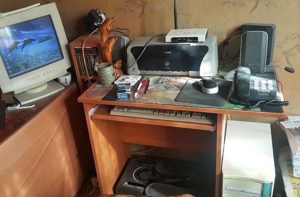 Настолен компютър-пълна конфигурация-плюс принтер