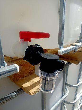 Продам фильтр грубой отчистки на Еврокуб, выход диаметр на 20