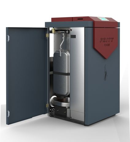Centrala peleti compacta Prity PLW18B EH – 20kW cu pompa si vas