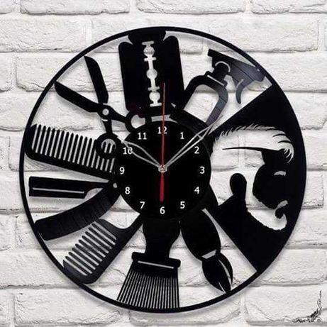Часы на виниле. Стильно.