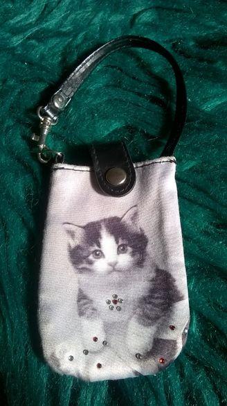 детско портмоне с коте