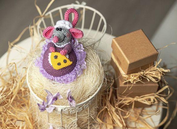 Плетени играчки на една кука-Мишле