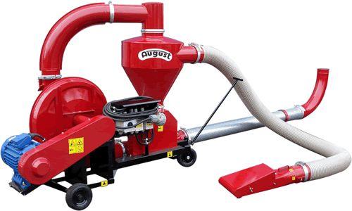 Transportor pneumatic cereale 14,5to/ora, SUFLANTA cu aspiratie