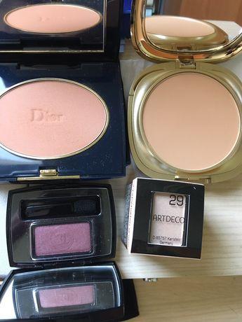 CD слънчева пудра, KIKO FOUND DE TEIN COMPACT, CD и Chanel сенки, сенк