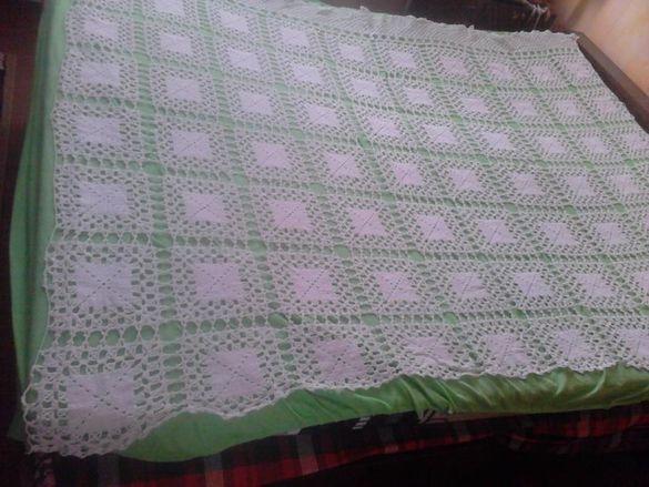 Покривало за легло+холна гарнитура