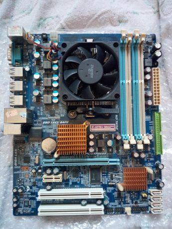 Мать на AM3 DDR3 сокете + Проц Athlon II x3 435