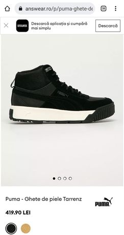 Ghete Puma barbati tarrenz nr.43 NOI - pantofi/adidasi/incaltaminte