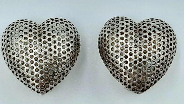 """Superbi cercei vintage din argint model foarte frumos """"inimioare """""""