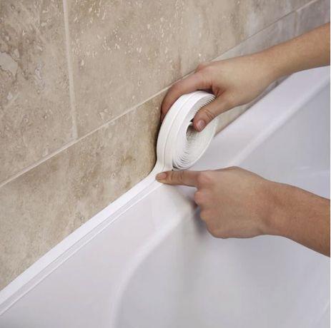 Силиконова самозалепваща лента за баня мивка плот уплътнителна