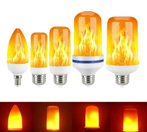 Лед крушки имитиращи пламък/Led light