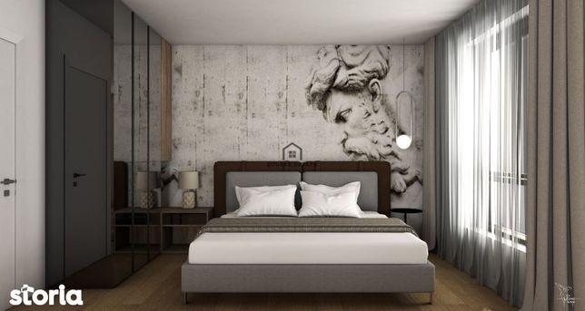 Apartament cu 2 camere cu gradina in imobil nou construit in Giroc