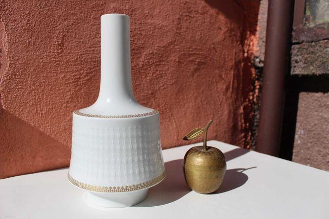Vaza portelan de colectie Lorenz Hutschenreuther,GOLD TRIM, aur 24k