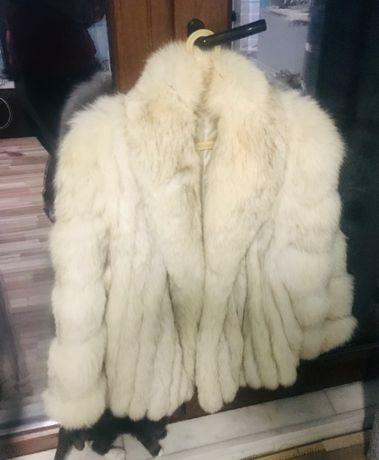 Hăinuță de blăniță naturală de vulpiță argintate ! Negociabila