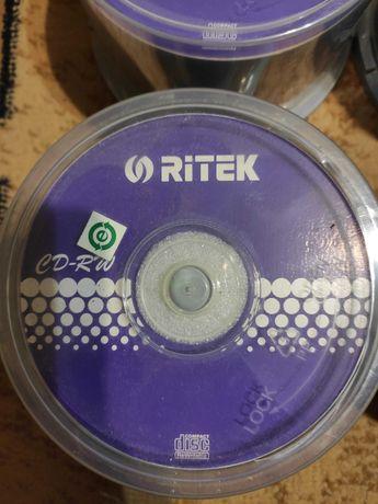 Диски CD новые чистые для записи