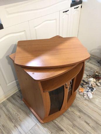 Шкаф за телевизор с въртящ плот