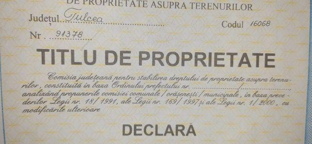 11,3 Ha teren extravilan Luncavita/Balta/Carbunarie
