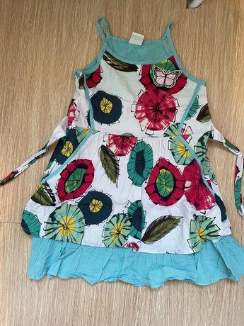 Летни дрехи за момиче размер 122/130