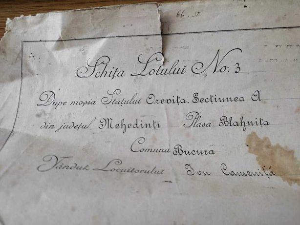 Act 1899 iulie- Schita lotului numarul 3