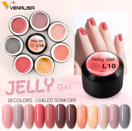 Venalisa Uv&Led Jelly гел за маникюр