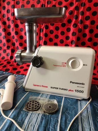 Электрическая мясорубка Panasonic MC-G 1500P оригинал Япония