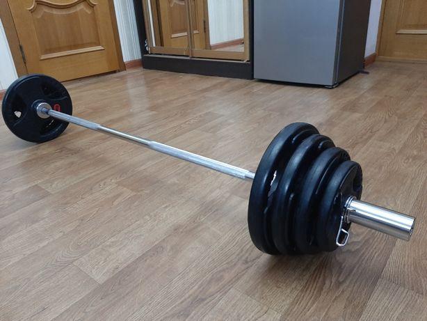 Штанга Олимпийский 85 кг Оригинал