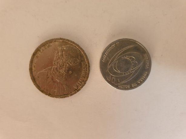 monede 100 LEI 1996 SI 500 LEI 1999
