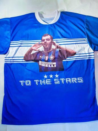 Tricou fotbal Pandev Inter Milan - tricou albastru fashion de vara