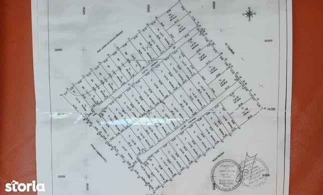 Vând 27 de loturi de teren Mioveni, intravilan