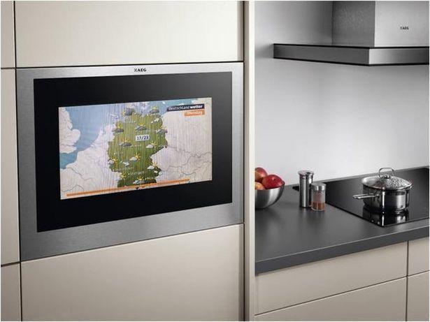 Televizor 48cm incorporabil mobila bucutarie AEG
